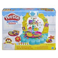 Play-Doh Kitchen Creations Sprinkle Cookie Surprise Play Food Set with 5 Cans of Play-Doh