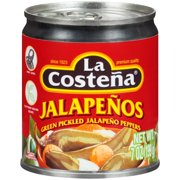 La Costena Green Pickled Whole Jalapeño Peppers, 7 Oz
