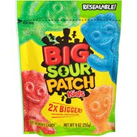 (2 Pack) Sour Patch Kids Big Soft & Chewy Candies, 9 Oz.