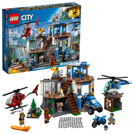 LEGO City Police Mountain Police Headquarters 60174 - Party City Headquarters