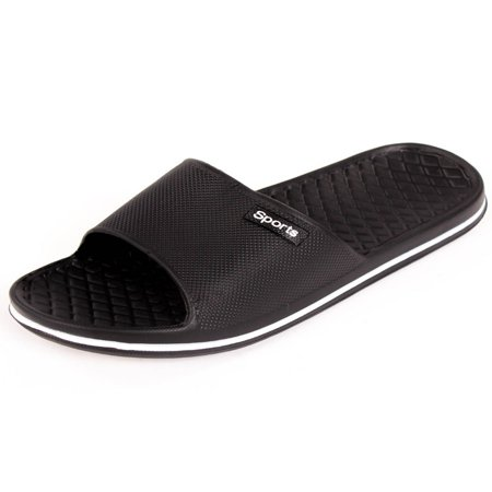 Cammie Men's Slip On Sport Slide Sandals ()