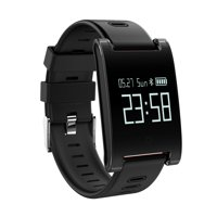 AGPtek Fitness Tracker Smart Watch Bracelet Wristband with Blood Pressure Monitor Heart Rate Monitor for IOS and Android