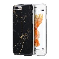 iPhone 8 Plus case, iPhone 7 Plus case, by Insten TPU Marble Stone Pattern Texture Visual IMD Rubber Case For Apple iPhone 8 Plus / iPhone 7 Plus