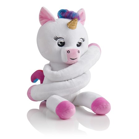 Ladybug Hugs (Fingerlings HUGS - Gigi (White) - Advanced Interactive Plush Baby Unicorn Pet - by WowWee )