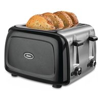 Oster 4-Slice Toaster - Black Metallic