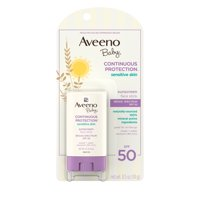 Aveeno Baby Sensitive Skin Sunscreen Stick, SPF 50, 0.5 oz