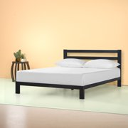 "Zinus Arnav Modern Studio 10"" Metal Platform Bed with Headboard, Multiple Sizes"