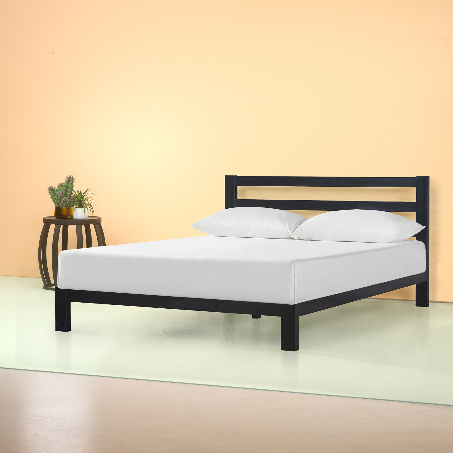 King Size Platform Bed Frame