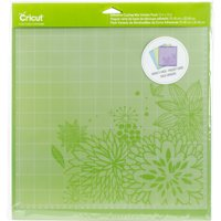"Cricut Adhesive Back Cutting Mats 12""X12"" 3/Pkg-Green, Blue & Purple"