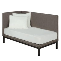 DHP Mid-Century Modern Linen Upholstered Daybed, Multiple Colors