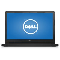 """Dell Black 15.6"""" Inspiron i3552 Laptop PC with Intel Celeron N3050 Processor, 4GB Memory, 500GB Hard Drive and Windows 10 Home"""