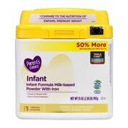 Parent's Choice Non-GMO Premium Infant Formula with Iron, 35 oz