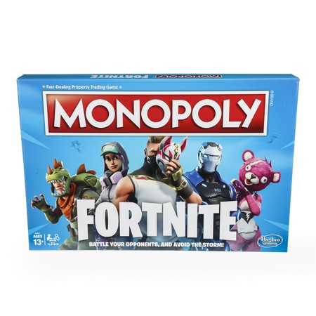 Monopoly Fortnite Board Game for Ages 13 and up - Team Building Games For Halloween