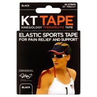 Lumos KT Tape Kinesiology Tape, Pre-cut Strips, 20 ea