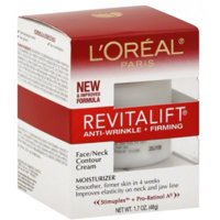 L'Oreal Revitalift Face & Neck Anti-Wrinkle & Firming Moisturizer Day Cream 1.70 oz (Pack of 3)
