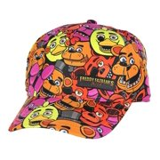 868e68d9d9492 Five Nights at Freddy s Youth Freddy All-Over Print Snapback Hat