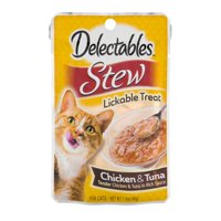 (144 Pack) Delectables Lickable Cat Treats - Stew Chicken & Tuna, 1.4 Oz.