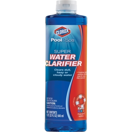 Clorox Pool&Spa Super Water Clarifier, 32 oz (For