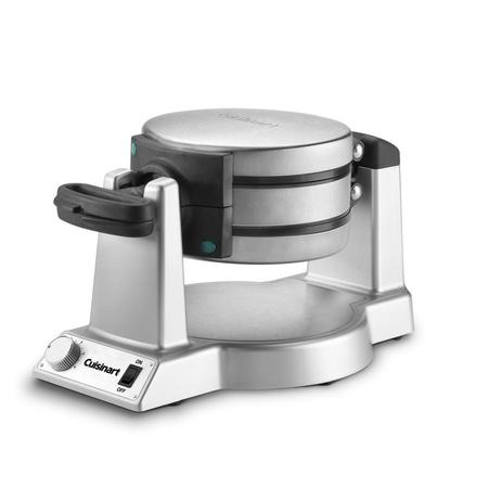Cuisinart Double Belgian Waffle Maker Round, Stainless
