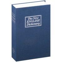 Stalwart Lock Box Diversion Book Safe with Key Lock, W200017