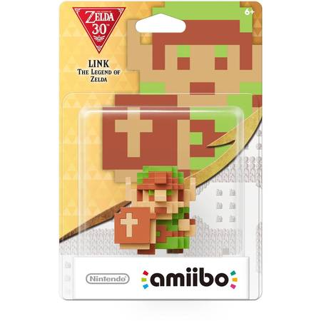 8-Bit Link, Zelda Series, Nintendo amiibo, NVLCAKAF](Link From Zelda)