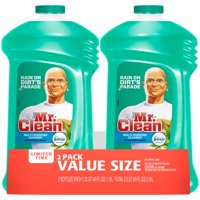 Mr Clean Liquid All-Purpose Cleaner with Febreze Meadows and Rain 40 Oz Twin Pack