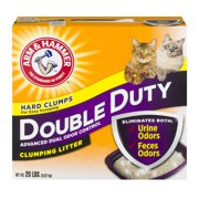 Arm & Hammer Double Duty Clumping Cat Litter, 40-lb