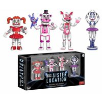 """Funko 2"""" Action Figure: Five Nights at Freddy's - Sister Location 4 Pack Set 1"""