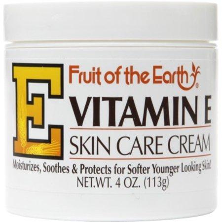 Fruit of the Earth Vitamin E Skin Care Cream 4 oz - Does The Earth Spin