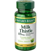 Nature's Bounty Milk Thistle Capsules, 175mg, 100 count