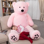 d166085d5ac WOWMAX 6 Foot Giant Huge Life Size Teddy Bear Daney Cuddly Stuffed Plush  Animals Teddy Bear
