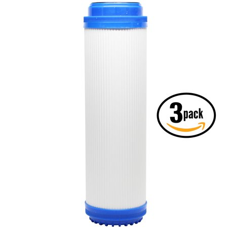 3-Pack Replacement OmniFIlter OB5 Granular Activated Carbon Filter - Universal 10-inch Cartridge for OmniFIlter Whole House Water Filter - Model OB5 WH5 - Denali Pure Brand