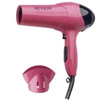 Revlon Essentials Lightweight RV474 Light Hair Dryer, Pink with Concentrator