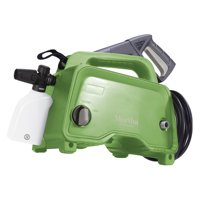 Martha Stewart Electric Hand-Carry Portable Pressure Washer w/Variable Pressure Lance and 13.5 oz Soap Foam Cannon | 1450 PSI | 1.48 GPM | 11-Amp