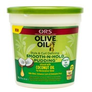 ORS Olive Oil Style & Curl Defining Smooth-N-Hold Pudding 13 oz