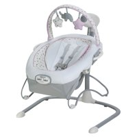 Graco Duet Sway LX Baby Swing with Portable Bouncer, Camila