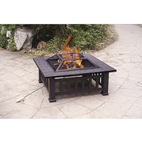 "Axxonn 32"" Alhambra Fire Pit with Cover"
