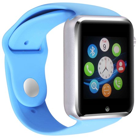 Premium Blue Bluetooth Smart Wrist Watch Phone mate for Android Touch Screen Blue Tooth Smart Watch with Camera for Adults for Kids (Supports [does not include] SIM+MEMORY CARD) G10](Kids Witch)