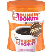 Dunkin' Donuts Original Blend Ground Coffee, Medium Roast, 30-Ounce