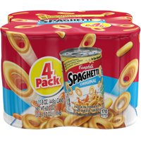 (2 Pack) Campbell's SpaghettiOs Original, 15.8 oz, 4 Pack