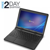 "Refurbished Dell Chromebook 3120 11.6"" HD Laptop Intel 2.16GHz 4GB 16GB SSD Google Chrome OS HDMI Bluetooth Wifi and Webcam"