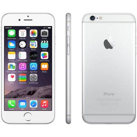 Refurbished Apple iPhone 6 16GB, Silver - Unlocked