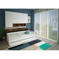Multimo Compact Sofa and Cabinet Wall Bed System