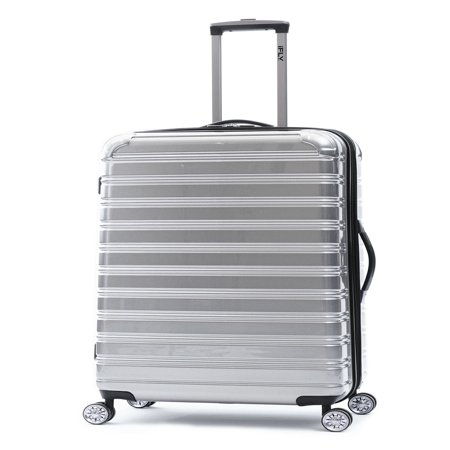 - iFLY Hardside Fibertech Luggage, 24
