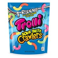 (2 Pack) Trolli, Halloween Candy, Sour Brite Crawlers Gummy Candy, 28.8 Oz