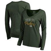 Green Bay Packers NFL Pro Line by Fanatics Branded Women s Graceful Long  Sleeve V-Neck 3ea962429
