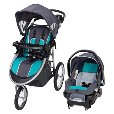 Baby Trend Pathway 35 Jogger Travel System-Optic Teal