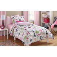 Mainstays Kids Paris Bed in a Bag Bedding