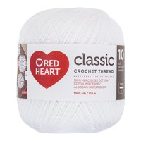 RED HEART CLASSIC 10 WHITE