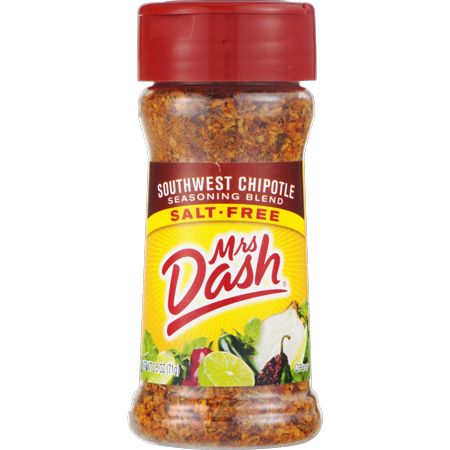 (2 Pack) Mrs. Dash Southwest Chipotle Salt-Free Seasoning Blend 2.5 (Cranberry Chipotle)